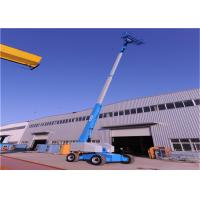 China Self propelled Telescopic Boom Lift S-66J High Strength Steel Material Dimensional Stable for sale