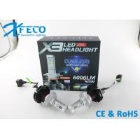 Wholesale  6000LM Led Headlight Conversion Kits H4 HB2 Canbus Auto Headlight 3000k 6500K from china suppliers