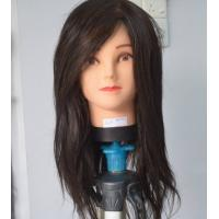 Wholesale Plastic Hairdresser Female Mannequin Head with Human Hair 50%, 85%, 100% from china suppliers