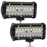 China 120W 9-36V waterproof IP68 auto led fog light car/truck LED working lights for sale