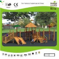 Wholesale Park Wooden Playground (KQ10155A) from china suppliers