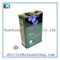 Wholesale metal cooking oil tin box from china suppliers