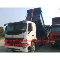 Wholesale 336HP 6x4 HOWO A7 Heavy Duty Dump Truck EURO II in White Yellow from china suppliers
