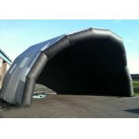 Wholesale Customized Giant Inflatable Stage Cover Black Large Inflatable Event Tent from china suppliers