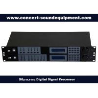 China 2 in 6 out Digital Sound Processor / Audio Digital Signal Processor on sale
