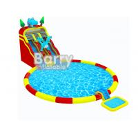 Wholesale Customized Amusement Park Toys Jurassic Inflatable Sea Water Park With Full Printing from china suppliers