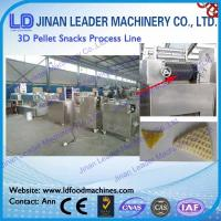 Wholesale Stainless steel 3d pellet snack manufacturing machine screw extruder from china suppliers