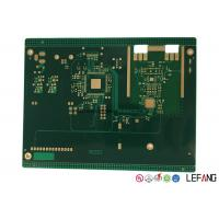 Buy cheap 10 Layers Industrial PCB Printed Circuit Board with Immersion Gold Surface from wholesalers