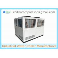 Quality Low Temperature (-25C) Bitzer Compressor Air Cooled Water Chiller for sale