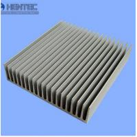 Wholesale Silkscreened Aluminum Heatsink Extrusion Profiles Round / Square / Triangle from china suppliers