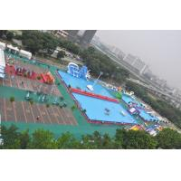 Quality EN71 Outside Square Metal Frame Pool , Metal Frame Wading Pool For Adults for sale