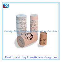 Wholesale kraft paper tube box for tea from china suppliers
