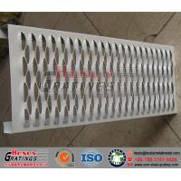 Quality Punching Metal Safety Grating/Crocodile Stair Treads for sale