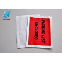 Wholesale Logistic Shipping packing slip envelopes with custom papers enclosed from china suppliers