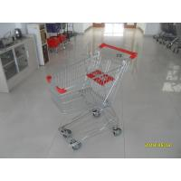 Wholesale 60L Store / Grocery Shopping Carts with 4 Swivel 4 Inch PU Wheels from china suppliers