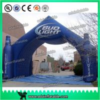 Wholesale Beer Or Coke Cola Small Bottle Shaped Outdoor Advertising Inflatable for promotional from china suppliers