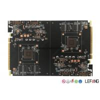 Wholesale Gold Finger OSP Surface Industrial PCB Graphics Card 6 Layers 145 * 109 Mm from china suppliers