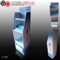 Wholesale PDQ floor display shelf with shelves for promotion from china suppliers