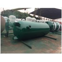 Wholesale Large Volume Compressed Air Storage Tank , 8 Bar - 40 Bar Portable Air Compressor Tank from china suppliers