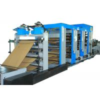Buy cheap Energy Saving Cement Paper Bag Making Machine Flexo Printing High Output from Wholesalers
