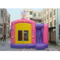 Wholesale Fire Resistant Inflatable Combo 4 In 1 Combo Bounce House With Slide from china suppliers