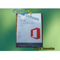 Wholesale Genuine Office 2016 PKC 64 Bit DVD Pack , Office 2016 Home And Business Key Code from china suppliers