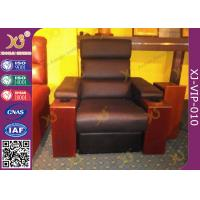 Buy cheap modern genuine leather finished home theater sofa leisure