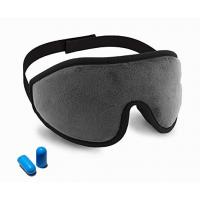 Wholesale Lightweight Memory Foam Eye Mask With Ear Plugs / Adjustable Strap from china suppliers