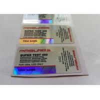 Buy cheap Prolrbs Laser materail For 10ml Vial Customized Design Labels from wholesalers