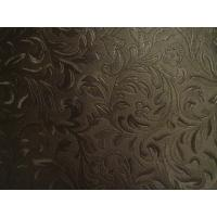 Buy cheap Good Elastic Strenghth Embossed Leather Upholstery for Decoration, Home Textile, from wholesalers
