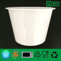 Wholesale Microwaveable & Freezable Plastic Food Container with Frosted 1750ml from china suppliers