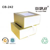 Wholesale Pvc Window Custom Printed Decorative Small Cardboard Gift Boxes Packing Candy Chocolate from china suppliers