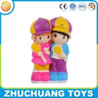 Wholesale custom design love friends plastic pvc money saving coin bank from china suppliers