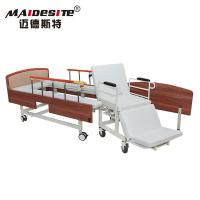 Wholesale Simple Design Manual Wheelchair Transfer Bed Anti - Rust Stable Steel Beadboard from china suppliers