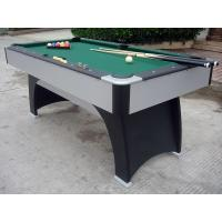 Wholesale Solid MDF Modern 6 Foot Pool Table , Indoor Family Professional Billiards Table from china suppliers