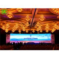 China P4 Indoor Full Color LED Display / Red green blue led video panel 256mm*128mm on sale