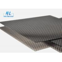 Wholesale Black Color 304 Stainless Steel Security Screens Bulletproof 0.7-1.5m Width from china suppliers