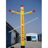 Single Leg Outdoor Advertising Inflatable Air Dancing Guy With Arms