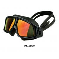 Quality Popular Mirrored and Anti Fog Swimming Goggles with CE Certificate for sale