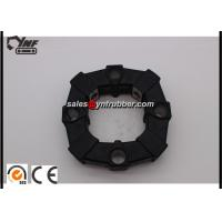 Buy cheap YNF Standard Black Rubber Flex Coupling For 50A / Excavator Spare Parts from wholesalers