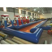 China Long inflatable runway water slide big inflatable water slide on sale for sale