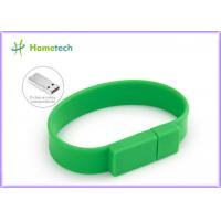 Promotional Gift  Silicone USB Wristband USB Flash Drive 4GB / 8GB