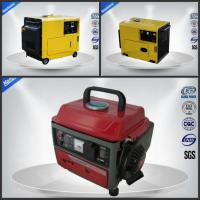 Quietest Small Portable Generator Set Air Cooled 4 Stroke Three Loops for sale
