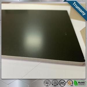 Wholesale Matt Black High Grade Aluminum Mirror Sheet Composite Panel For Decoration Billboard from china suppliers