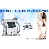 Buy cheap Two Handles Cryolipolysis Slimming Machine , Coolsculpting Fat Removal Weight Loss from Wholesalers