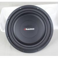 China 12 Inch Shallow Mount Subwoofer Low Profile Installing Depth Black Nomex Spider on sale