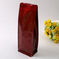 Wholesale Laminated Aluminum Foil Ziplock Bag Matte Surface With Zipper And Valve from china suppliers