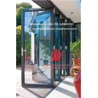 China Door Unique,Top quality aluminum sliding folding glass doors with grilled design on sale