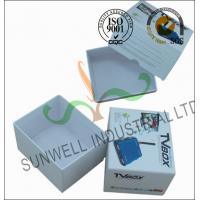 Wholesale Corrugated Coated Paper Electronics TV Packaging Boxes White Color Matt Lamination from china suppliers