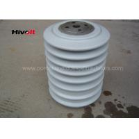 Wholesale Porcelain Post Insulators With Steel Inserts , Bus Post Insulator Grey Color from china suppliers